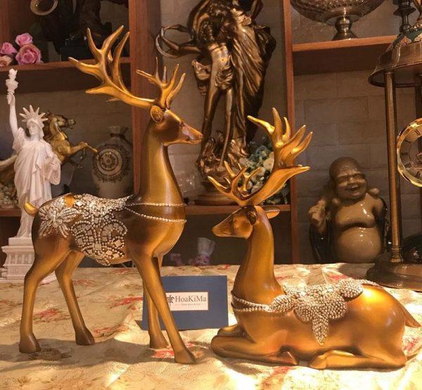 Những mẫu tượng trang trí phòng khách còn mang ý nghĩa phong thuỷ tốt đẹp